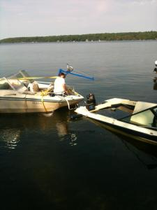 Did you know Kawartha Marine does sunken boat retrievals?