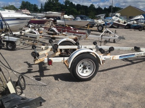 We have a large variety of used boat trailers available for sale.